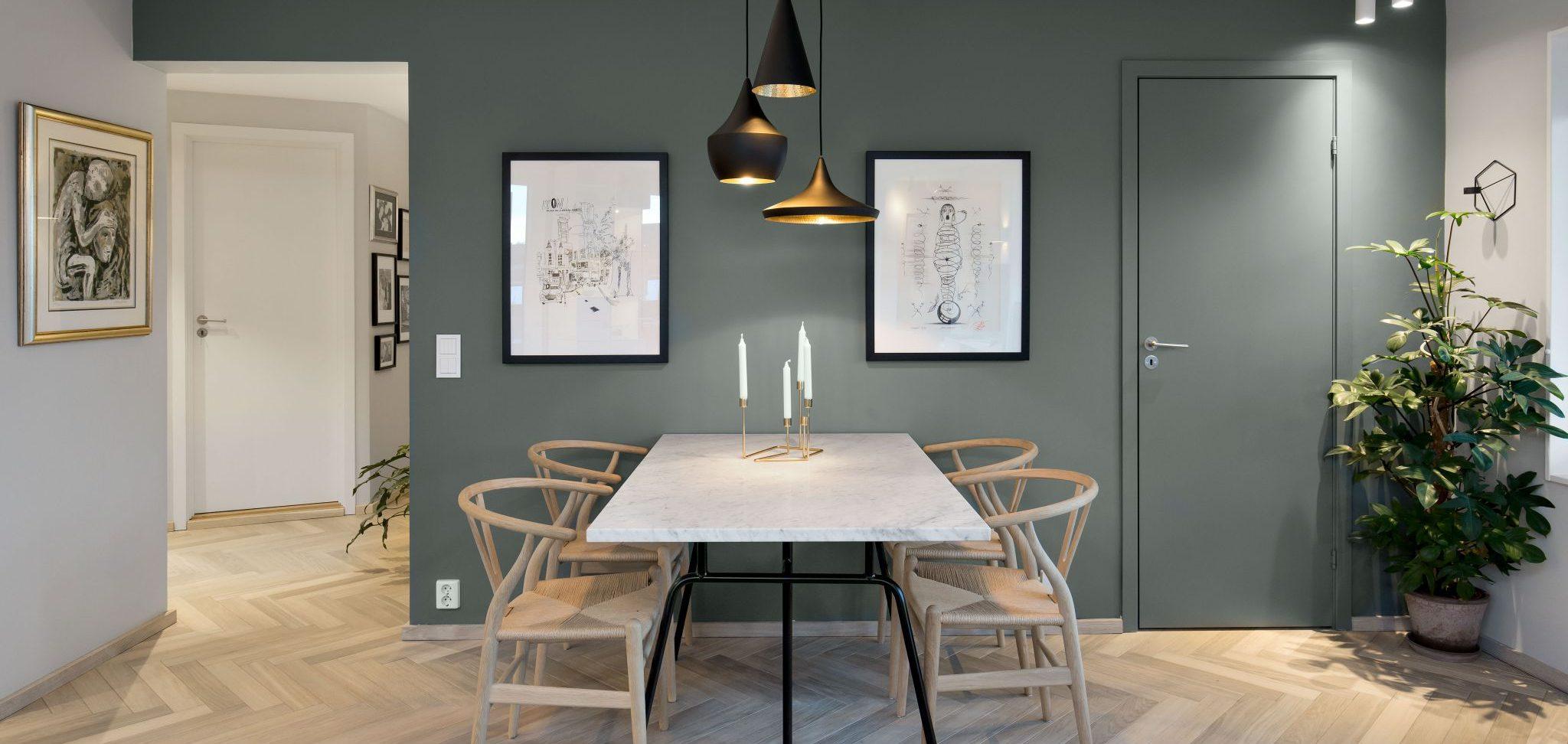 Interiørarkitekt private hjem